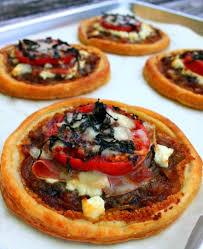 Ina Garten Tomato Tart Recipe Easy Tomato Goat Cheese And Prosciutto Tarts Jacob U0027s Kitchen