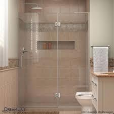 800 Pivot Shower Door by Shower Door Miragex 56 In To 60 In X 72 In Semi Frameless Hinged