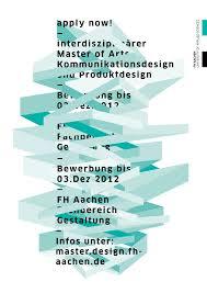 design aachen now master of arts fh aachen