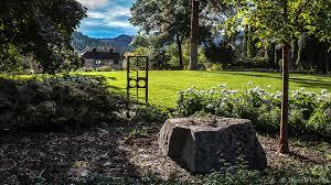 landscape photograph of the summerland ornamental gardens