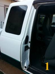 ford ranger door handle trs magazine ford ranger opening a stuck rear door