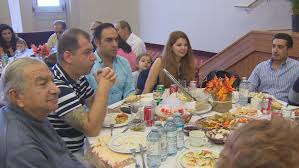 toronto area syrian refugees celebrate thanksgiving in new