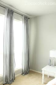 Pink And Gray Curtains Grey Curtains Decorchick