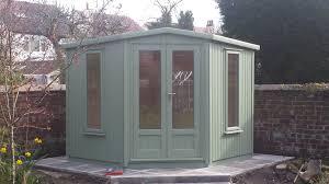 Garden Summer Houses Corner - summerhouses of distinction