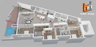 3d gallery budde design brisbane perth melbourne sydney 3d floor plan mermaid beach qld