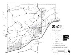 Santa Fe New Mexico Map by La Tierra Trails Santa Fe Conservation Trust