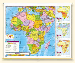 map continents political relief continents and regions map series social