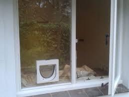 Patio Door Cat Flap Cat Flap Fitting Service In Basingstoke Newbury Hshire