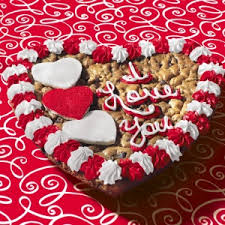 mrs fields cookie cakes mrs fields i you with hearts