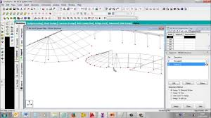 staad pro modeling of roof structural steel framing works youtube