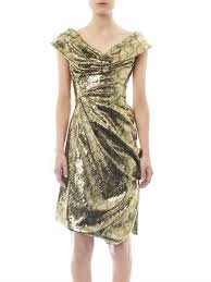 solid gold sequin dress for women ioode