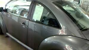 grey volkswagen bug platinum gray 2003 vw beetle eastside volkswagen in cleveland