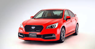 red subaru legacy subaru reveals 2015 legacy b4 blitzen concept in japan autoevolution