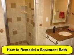 basement bathroom renovation ideas how to remodel a basement bath part 1 of 3 howtolou