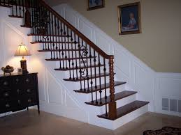 living room deck stair railing post height exterior wood