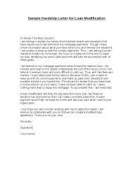 sample hardship letter for loan modification crna cover letter