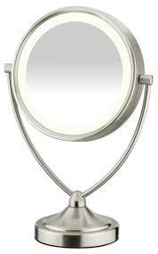 assis led lighted makeup mirror conair double sided natural daylight makeup mirror review makeupkitz