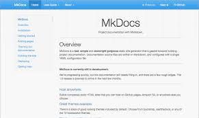 html themes sphinx styling your docs mkdocs