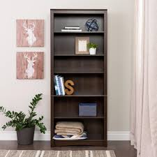 prepac espresso open bookcase edl 3277 k the home depot