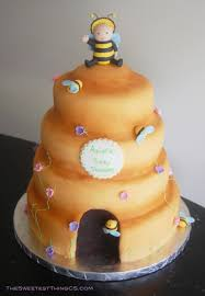 bee hive baby shower cakecentral com