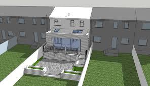 terraced house rear extension plans house plans