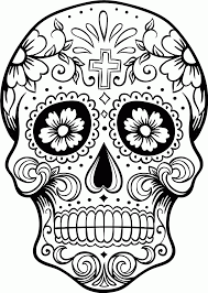 skull candy coloring pages coloring home