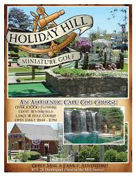 holiday hill miniature golf old but well maintained