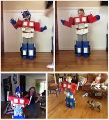 Transformer Halloween Costumes Diy Kids Optimus Prime Costume Jacob
