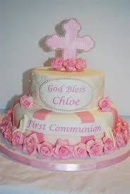 floral first communion cake used to decorate cakes