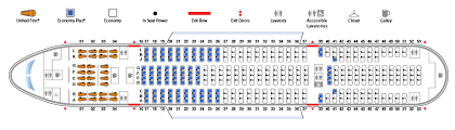 seat map boeing 777 200 777 united airlines