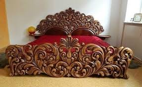 30 unique handmade wooden bed frame decor