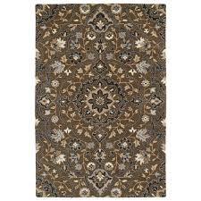 Chocolate Brown Area Rugs Kaleen Middleton Chocolate 5 Ft X 7 Ft 9 In Area Rug Mid06 40