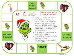 grinch game board math we used addition and subtraction