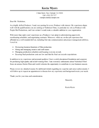 How To Prepare A Resume For Job Interview Best Media U0026 Entertainment Cover Letter Examples Livecareer