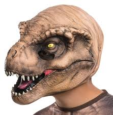halloween costumes for kids target jurassic world kids t rex 3 4 mask scary halloween halloween