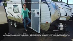 Wildwood Campers Floor Plans by Forest River Wildwood X Lite Factory Select West T172bh Youtube