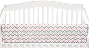 amazon com american baby company zz crib rail cover pink crib
