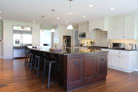 Mirror Backsplash In Kitchen by Recycled Countertops Large Kitchen Islands With Seating And