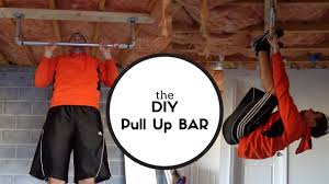 building a rock solid pull up bar diy youtube