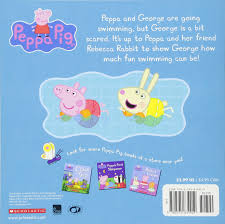 peppa goes swimming peppa pig scholastic eone 9780545834919