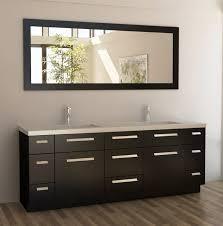modern bathroom vanitiescreates elegancy by dim colors of modern