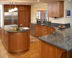 kitchen brown cabinets with white countertops best color for