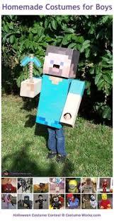 Steve Minecraft Halloween Costume Kids Outhouse Costume Google Holloweenie