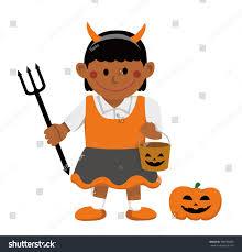 halloween costume kids vector stock vector 708696859 shutterstock