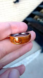 How To Make Inlay Jewelry - the greatest ring making tutorial online bent wood metal hybrids
