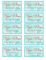 open when letters long distance relationship card valentines