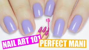 how to paint your nails perfectly non dominant hand tips nail