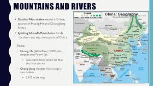 Yellow River China Map by Physical Geography Of Asia Ppt Video Online Download