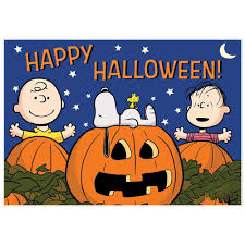 happy halloween pumpkin clipart the great pumpkin charlie brown snoopy halloween decoration banner