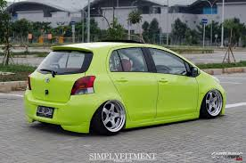 stanced toyota stance toyota yaris